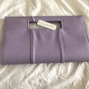Charming Charlie Lavender Clutch